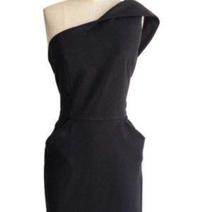Cynthia Steffe One Shoulder Dress - Black